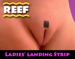 Ladies' 3X Landing Strip Brazilian Wax at Reef Rockhampton