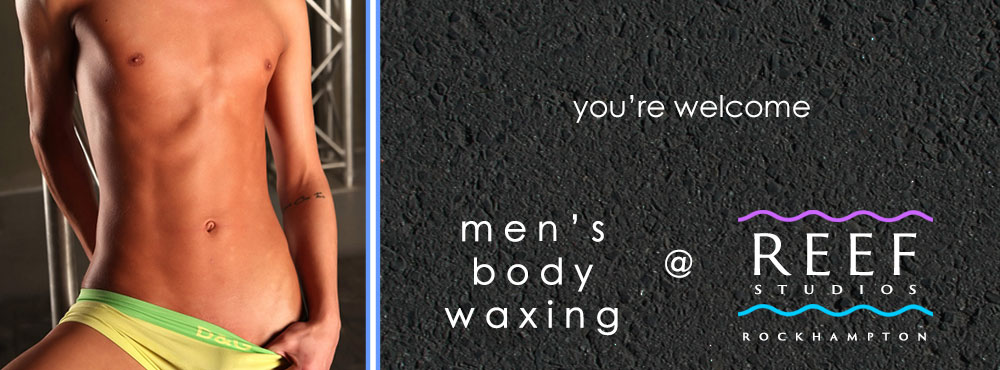 Men's body waxing sexy poster youre welcome