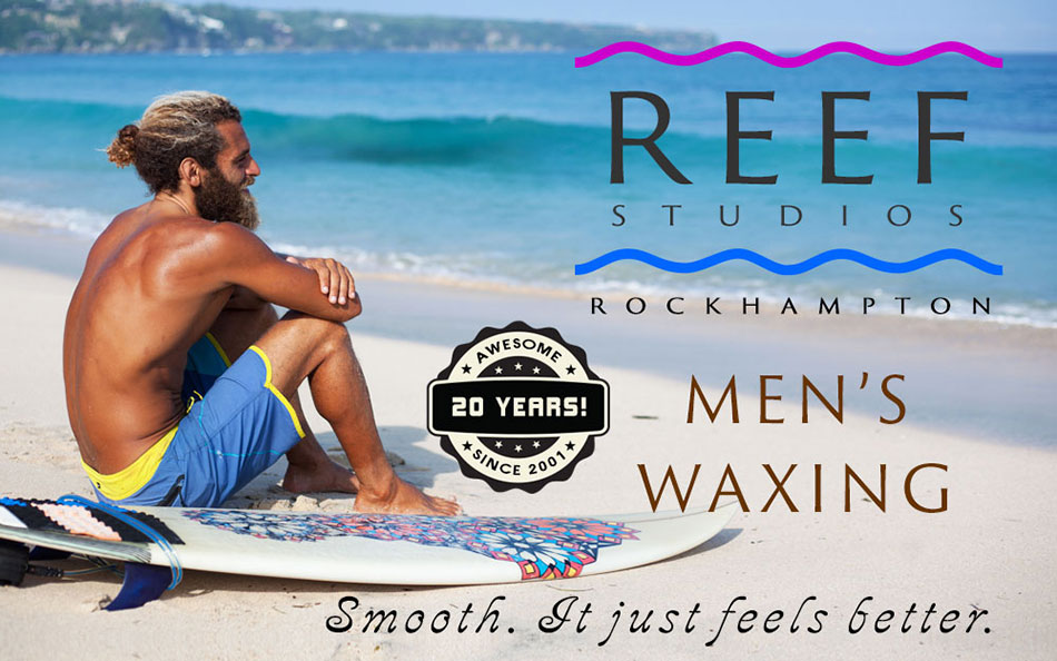 Men's Body Waxing at Reef Studios Rockhampton